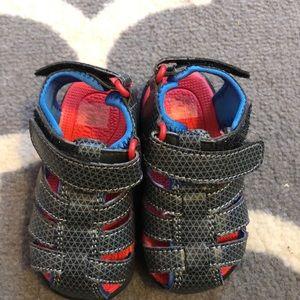 See Kai Run black sandals- never worn
